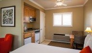 two beds kitchenette