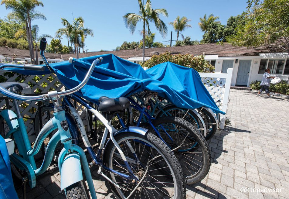 bike rental free santa barbara hotel motel cabrillo blvd santa barbara
